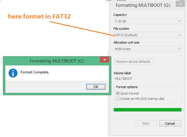 FAT32(default)
